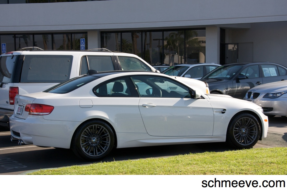 BMW M3 E92 Alpine White M-DCT